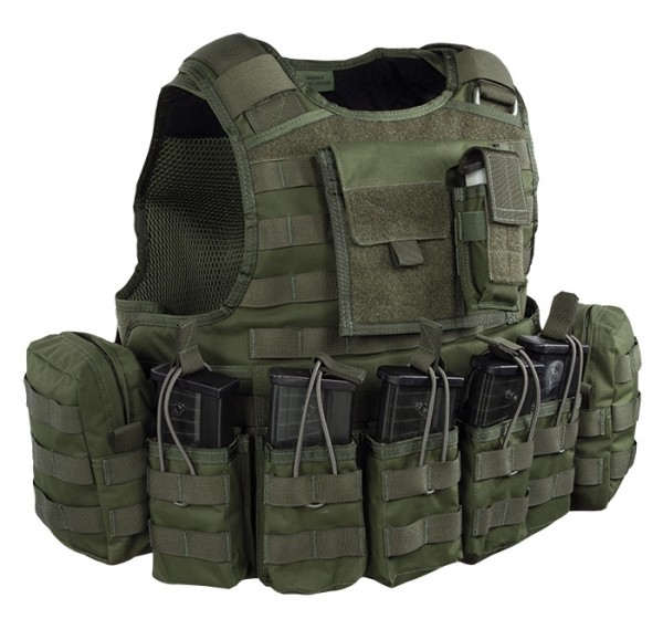 Warrior Raptor Plate Carrier G36 Oliv