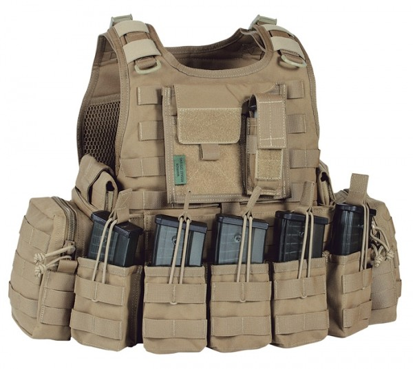 Warrior RICAS Compact G36 Plate Carrier Coyote