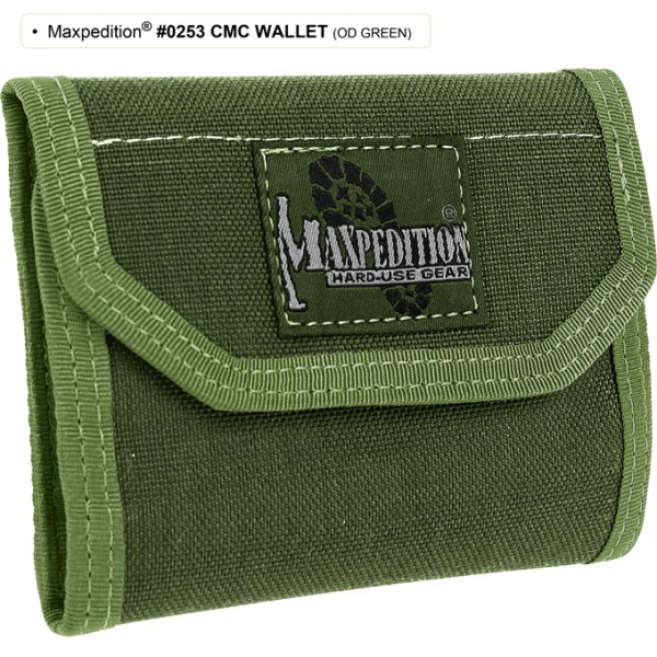 Maxpedition C.M.C. Wallet (OD Green)