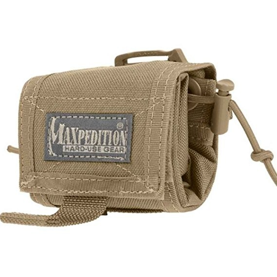 Maxpedition ROLLYPOLY® Folding Dump Pouch (Khaki)