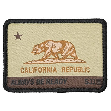 5.11 CA STATE BEAR PATCH
