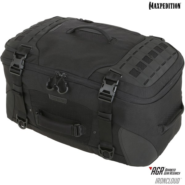 Maxpedition IRONCLOUD™ Adventure Travel Bag (Black)