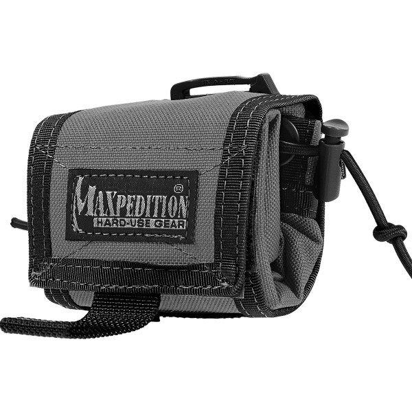 Maxpedition ROLLYPOLY® Folding Dump Pouch (Wolf Gray)