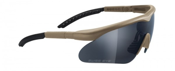 SwissEye Tactical Brille Raptor Braun