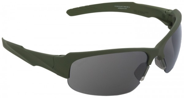 SwissEye Tactical Brille Armored Oliv