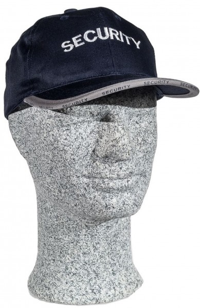 "TacFirst Baseball Cap ""SECURITY"" Navyblau"