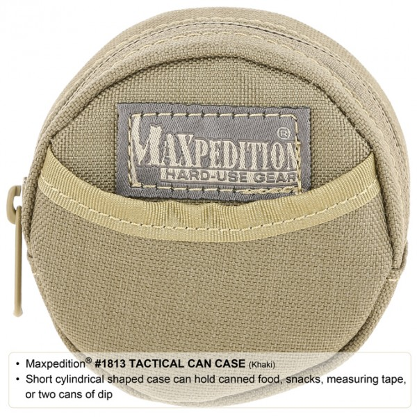 Maxpedition Tactical Can Case (Khaki)